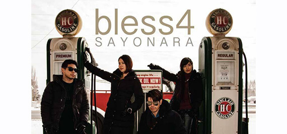 bless4「SAYONARA」MVキャスト募集!川満アート・テイメント